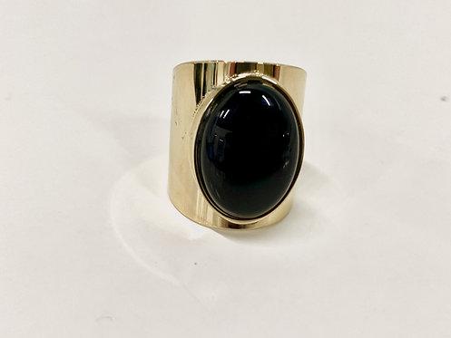Ring Black Stone