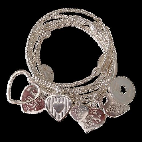 Bracelet Set 7 Corazon