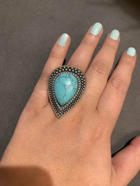 Shabada Ring Turqoise Silver 1