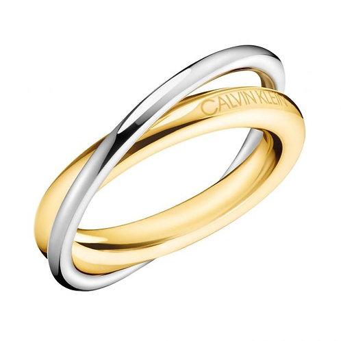 Ring Calvin Klein Double