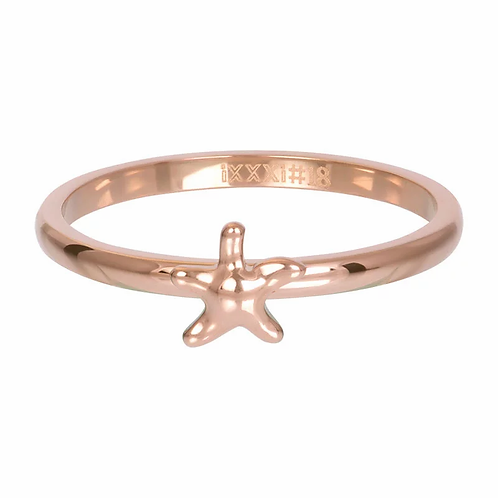 Vulring Symbol Starfish Rosé 2mm