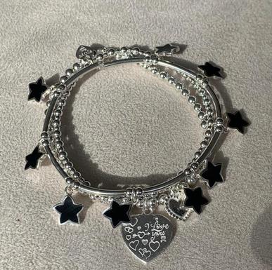 Bracelet Set Garcia Black
