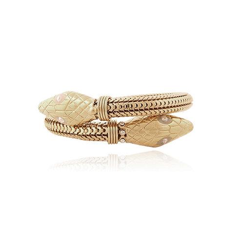 Cobra bracelet gold