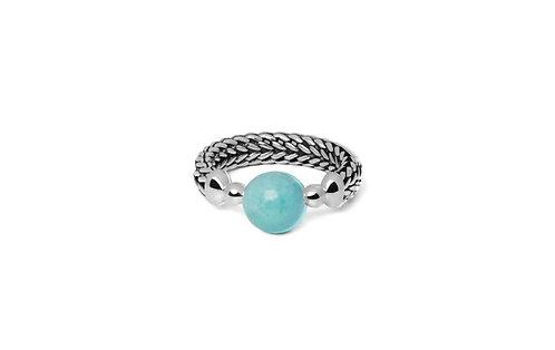004 Batas Sphere Amazoniet Ring