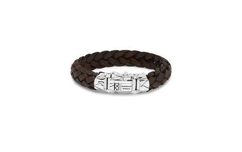 127 Mangky Leather Brown Bracelet