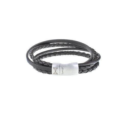 Iron Four String Brown Bracelet