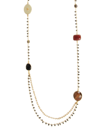 Serti Pondicherie Long Necklace