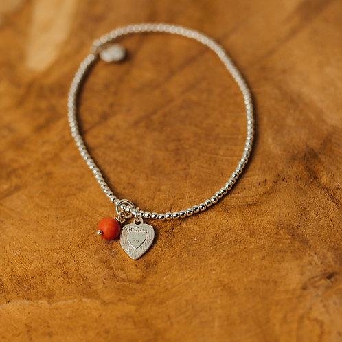 Bracelet Stay Safe Corazon