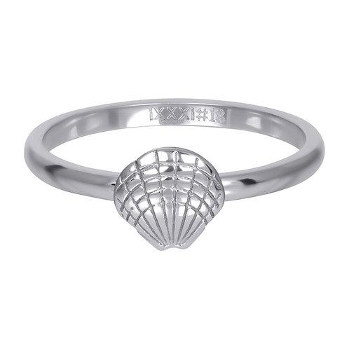 Vulring Symbol Shell Zilverkleurig 2mm