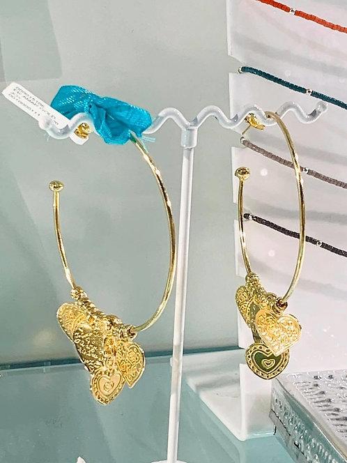 AMAR Earrings Gold