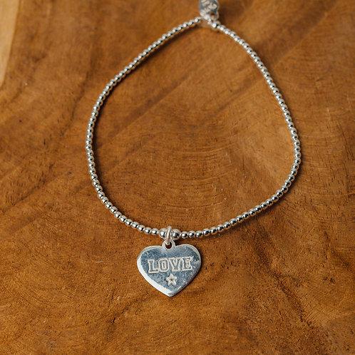 Bracelet tiny Wishes Love