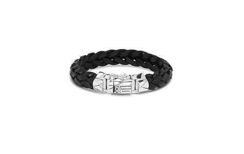 127 Mangky Leather Black Bracelet
