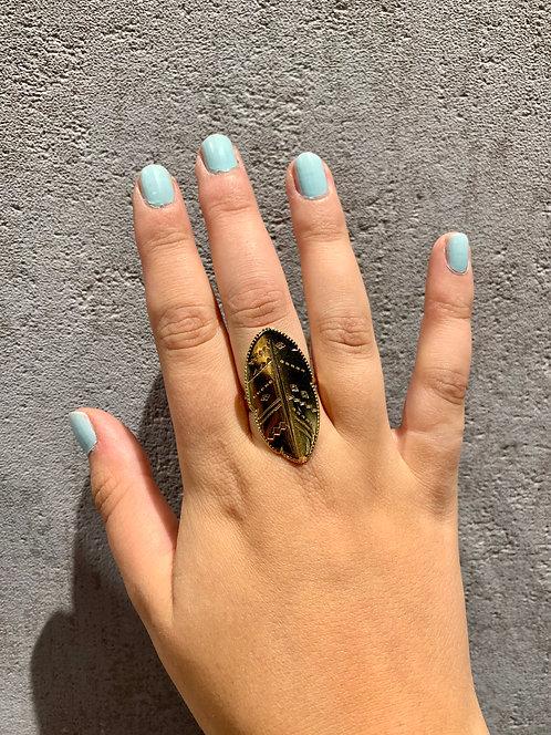 Shabada Ring Leaf