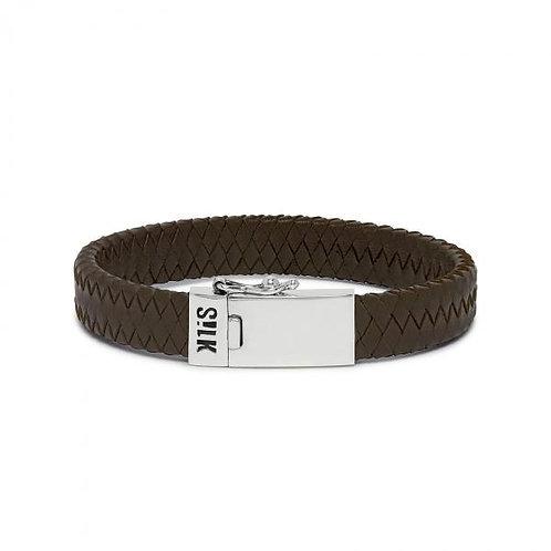 841 Armband Bruin Alpha