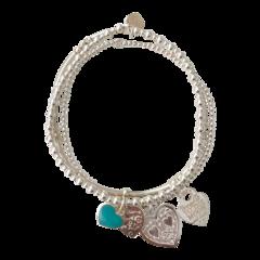 Bracelet Set Sicily Aqua Boda