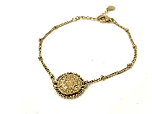 Armband coin