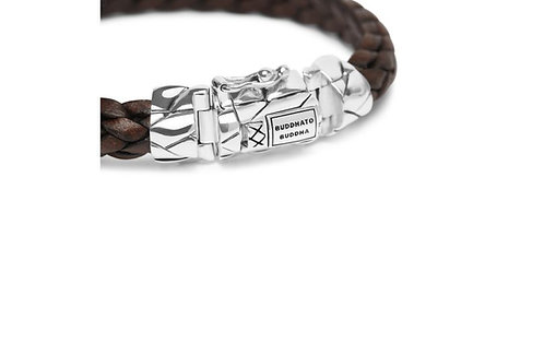 126 Mangky Small Leather Brown Bracelet