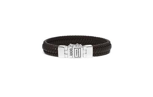 181 Edwin Small Leather Black Bracelet