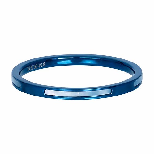 Vulring Bonaire Blauw 2mm