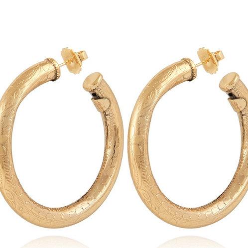 Maoro Hoop Earring