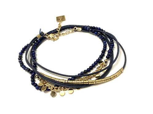 Armband donkerblauw