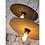 Thumbnail: ALGARVE - hanglamp uit natuurlijke kurk  met zwart-wit 'strijkijzersnoer'