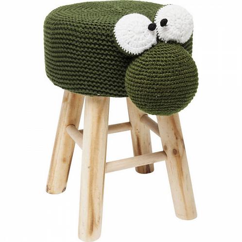 KIKKERTJE TOCH! - charmant kinderkrukje in hout en textiel (Kare Design)