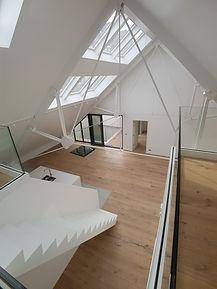 Luxelofts Gent renovatie hout van miel (