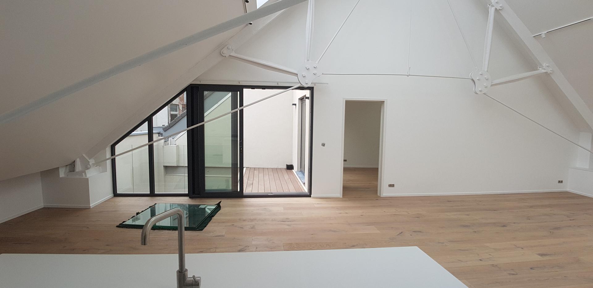 Lofts Gent - parket en Renovatie Anseele