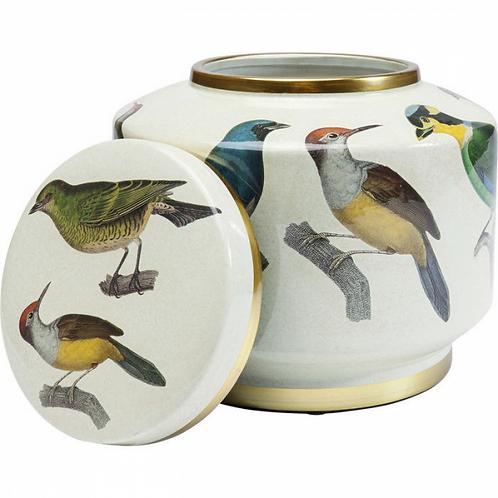 BIRD BIRD BIRDS -  wondermooie en tijdloze sierpot in keramiek