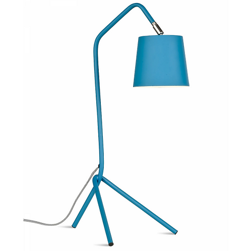 BARCELONA - tafellamp in hemelsblauw metaal (It's About Romi)