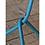 Thumbnail: BARCELONA - tafellamp in hemelsblauw metaal (It's About Romi)