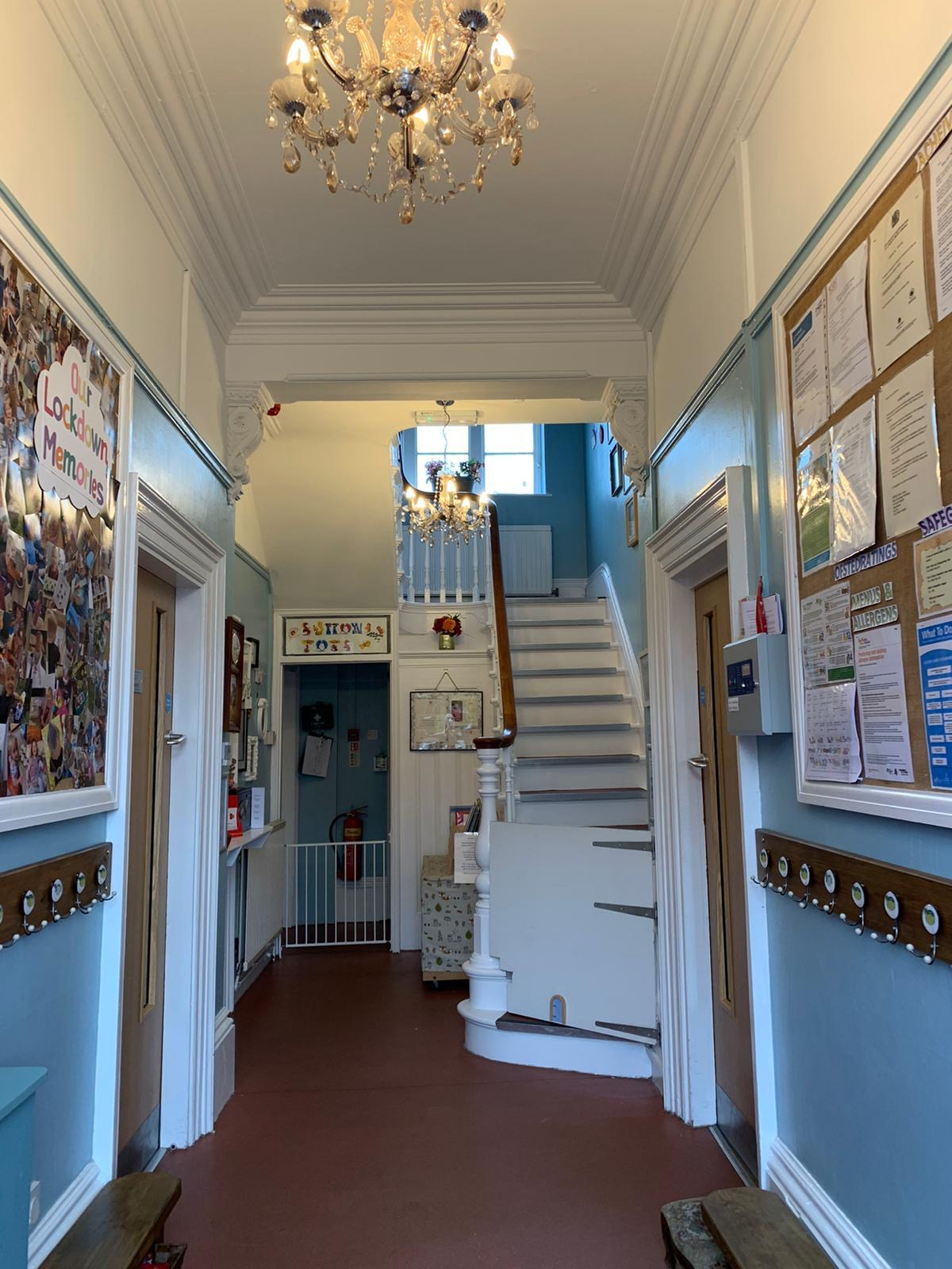 Our Hallway!