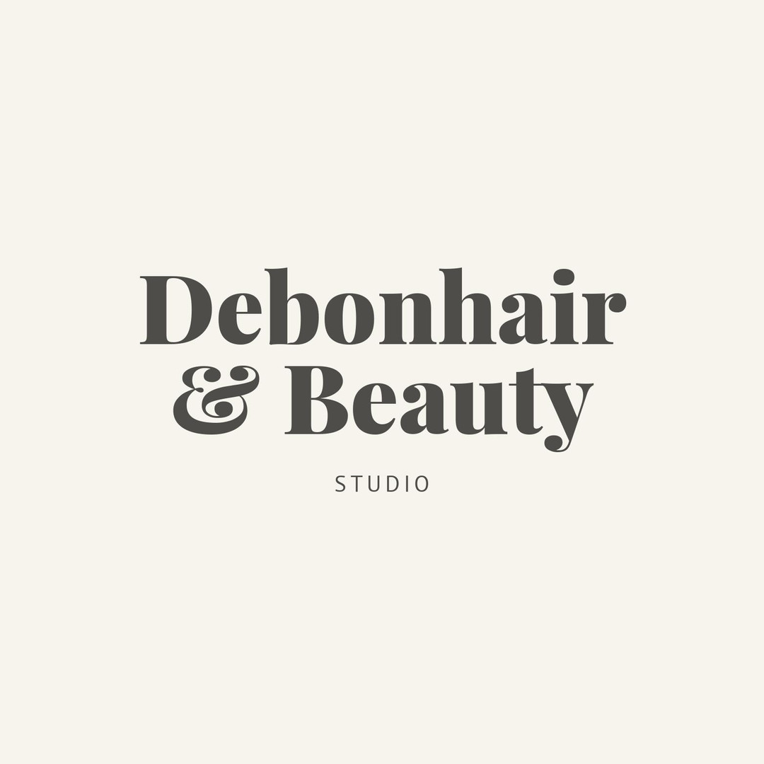 Debonhair & Beauty Studio Logo