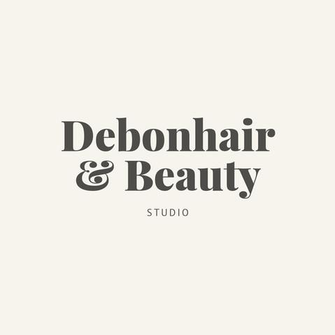 Debonhair & Beauty Studio Logo