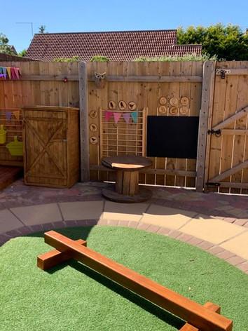 Our lovely garden!