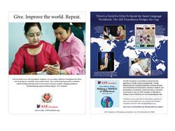 ASE Foundation print ads