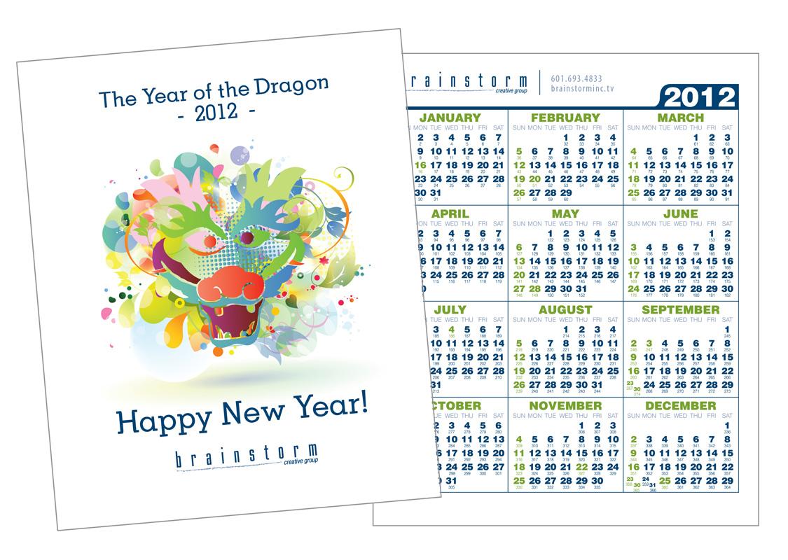 Brainstorm Promotional Calendar