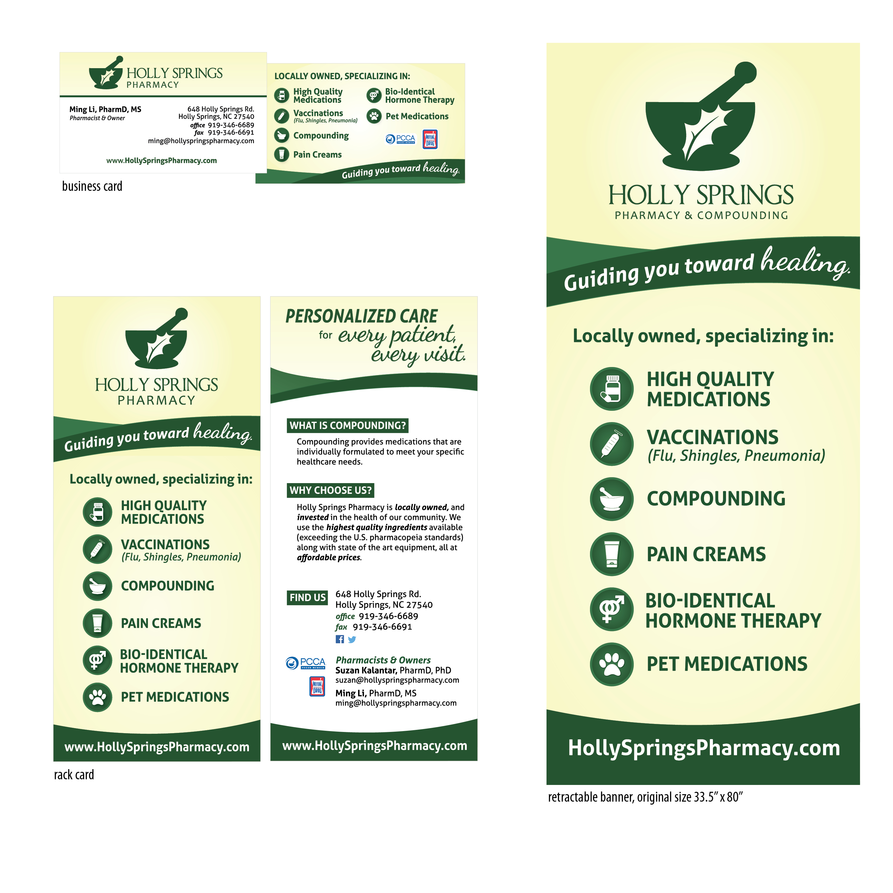 Holly Springs Pharmacy collateral