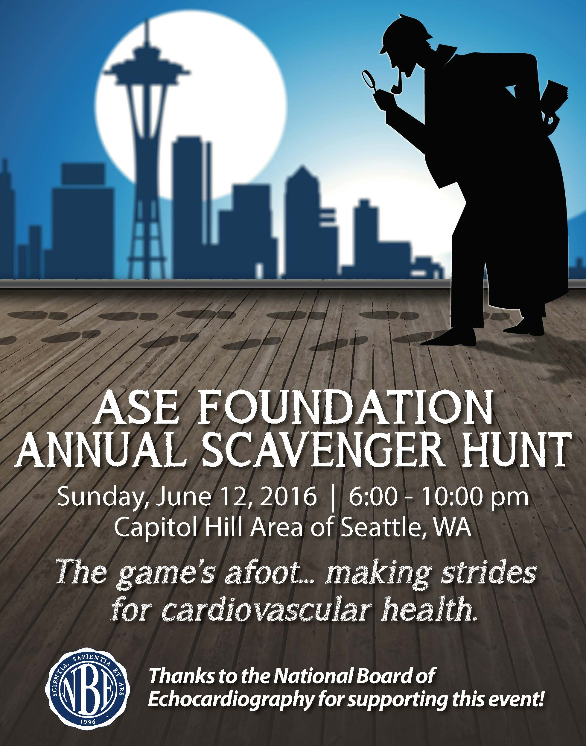 ASEF 2016 Scavenger Hunt artwork