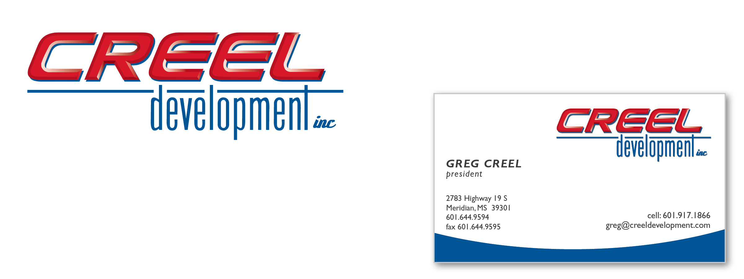 Creel Development Branding