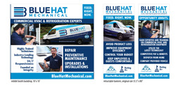 Blue Hat Mechanical signage