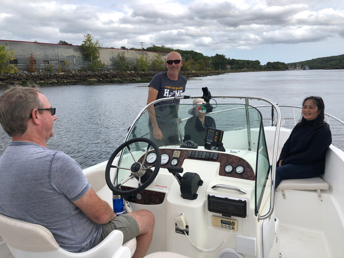 Boating on the LaHave