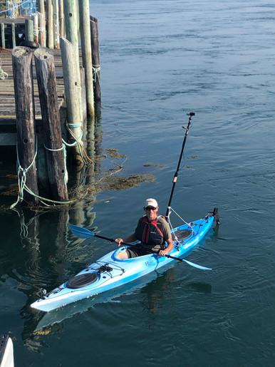 The crane cam kayak