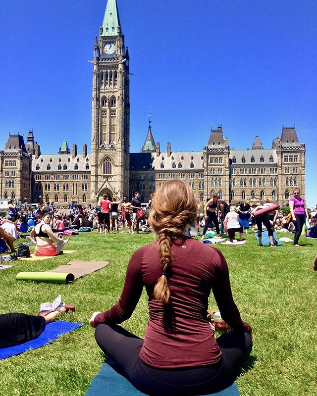 Finally made it to Parliament Hill Yoga