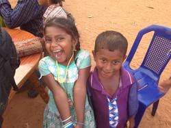 Annusha's radiant smile