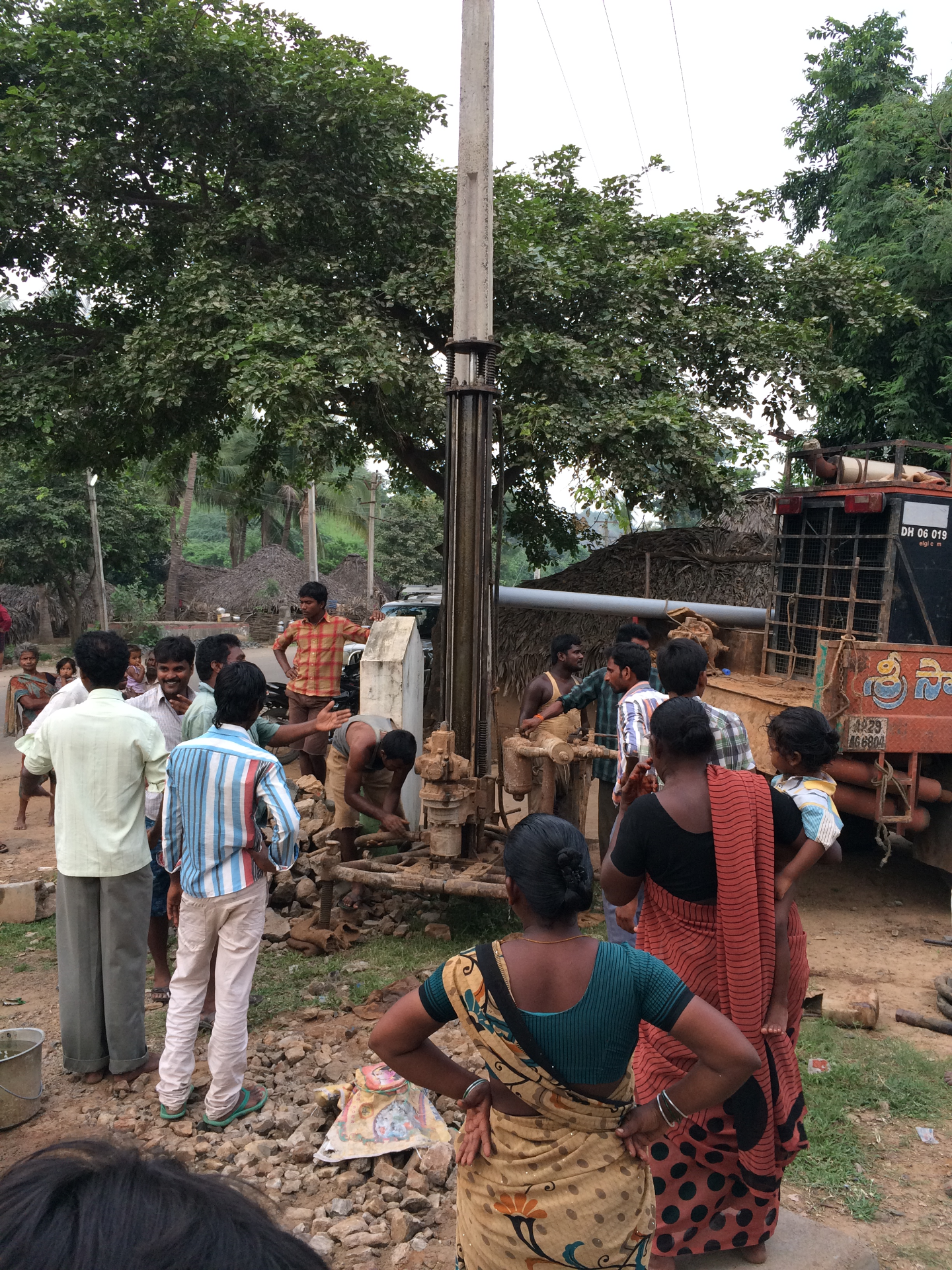 Drilling a New Water Wells