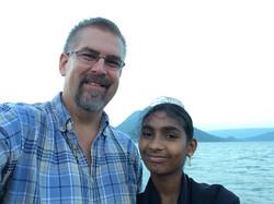 Pastor Ron with Raaji