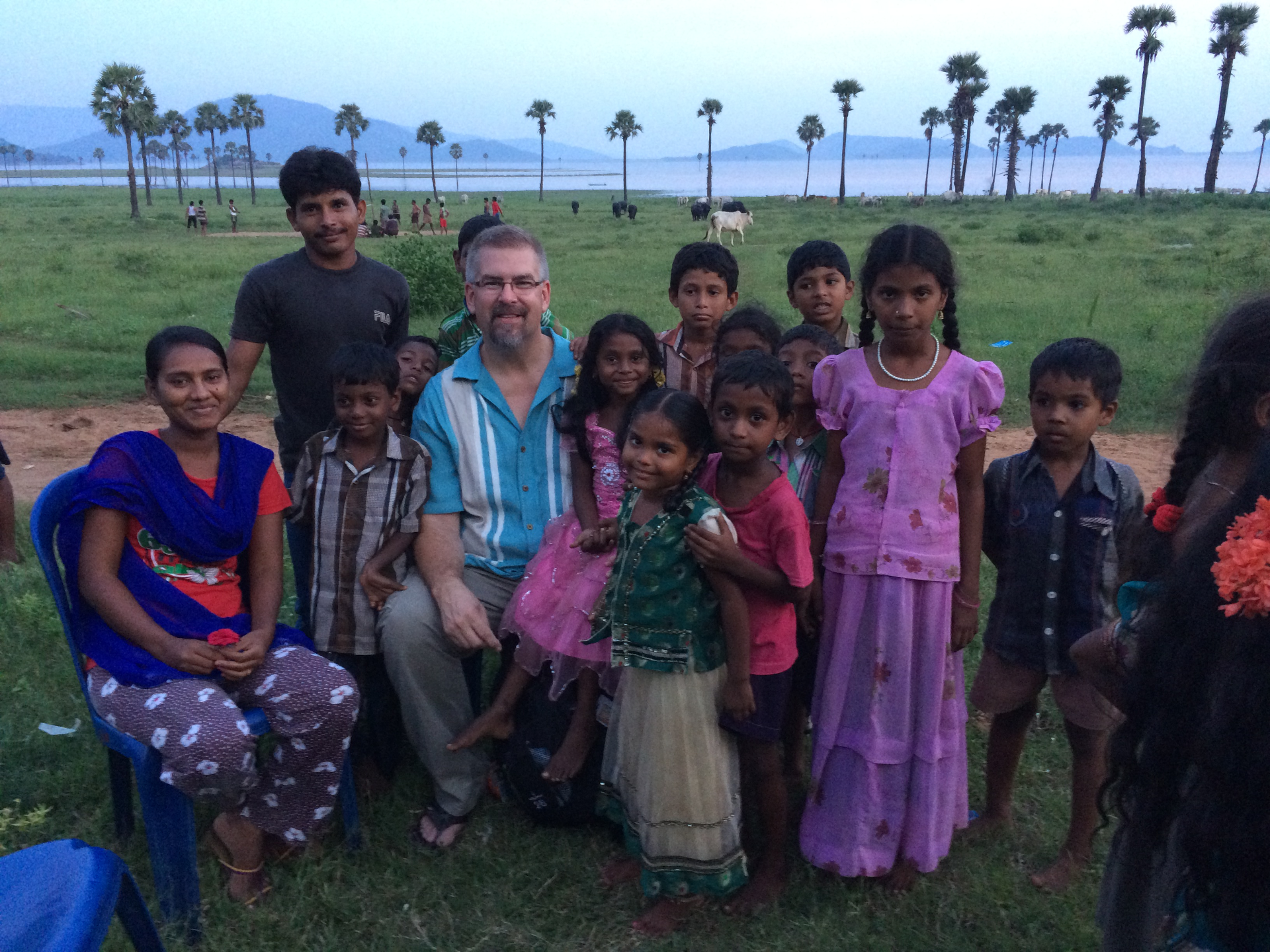 Group photo in Kambalapalam