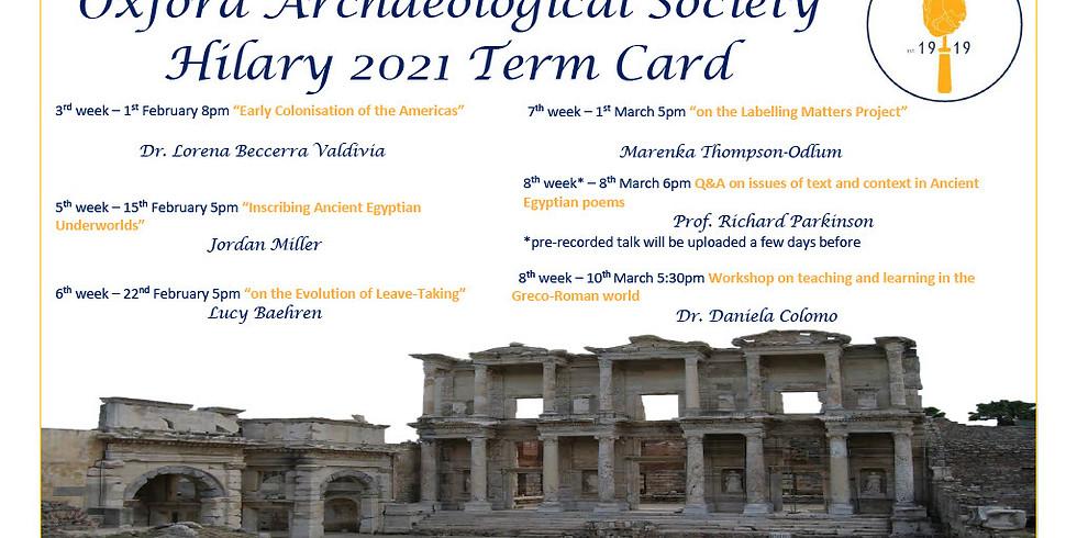 Inscribing ancient Egyptian underworlds